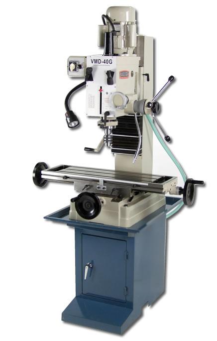 Baileigh Vmd 40g Gear Driven Vertical Mill Drill Press