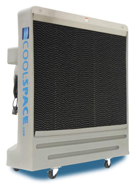 Evaporative Cooler Efficiency Chart : Cool space cs b evaporative cooler speed