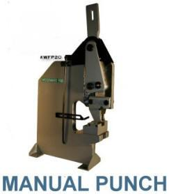 Woodward Fab Manual Punch 1/8 - 5/8 inch