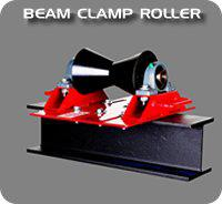 B And B Steel Beam Clamp Roller