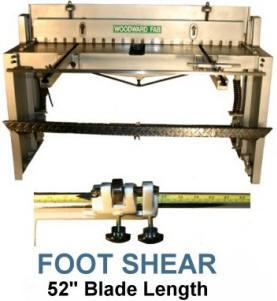 Woodward Fab Sheet Metal Shearing Tools