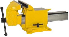 Yost High Visibility All Steel Utility Combination Pipe and Bench Swivel Base Vise