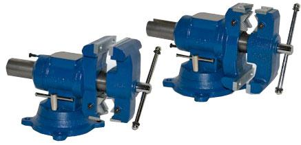 Yost Swivel Base Multi Jaw Rotating Combination Pipe And