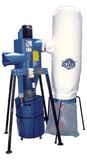 Oliver 3 HP / 2000 cfm Bag Cyclone Dust Collector