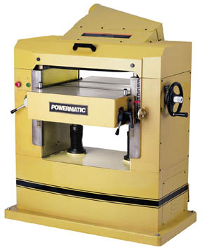 powermatic MODEL 201 and 201HH - 22 inch  Industrial Planer