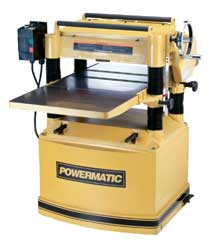 "powermatic 20"" - 209 & 209HH hd wood planer"