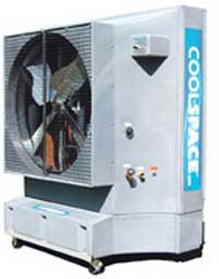 cool-space 5900/7500/9500 CFM 3 Speed Belt Drive Motor