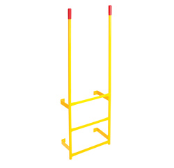 Ega Wall Mount Walk Through Steel Dock Ladder