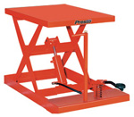 presto Light Duty Scissor Lifts
