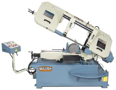 BAILEIGH MANUAL VERTICAL and HORIZONTAL, AUTO and SEMI AUTOMATIC METAL BANDSAWS