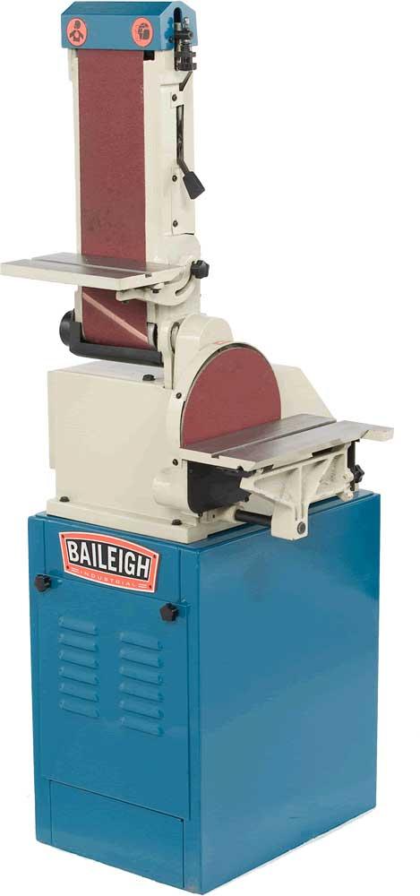Baileigh Dbg 106 Combination Belt Grinder And Disc Grinder