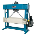 baileigh 100 ton extended table hydraulic  press