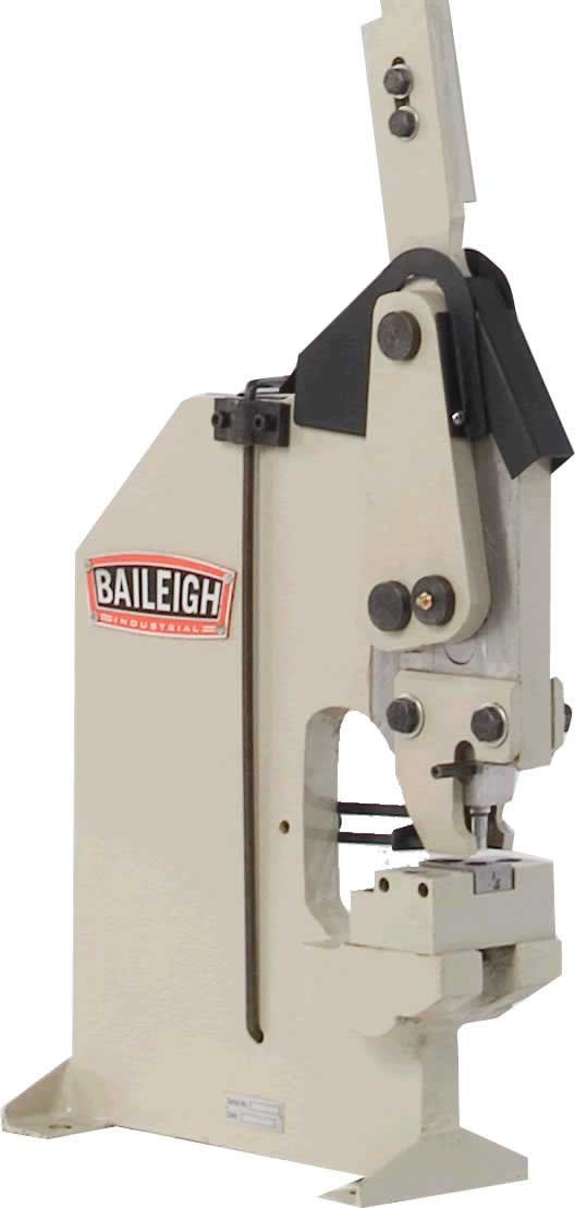 Baileigh Hp 160 Manually Operated Hand Punch