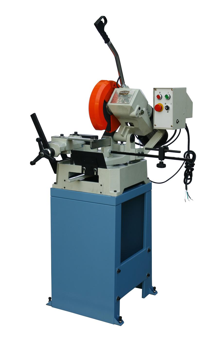 Baileigh Cs 250 Eu European Style Manually Operated Cold Saw
