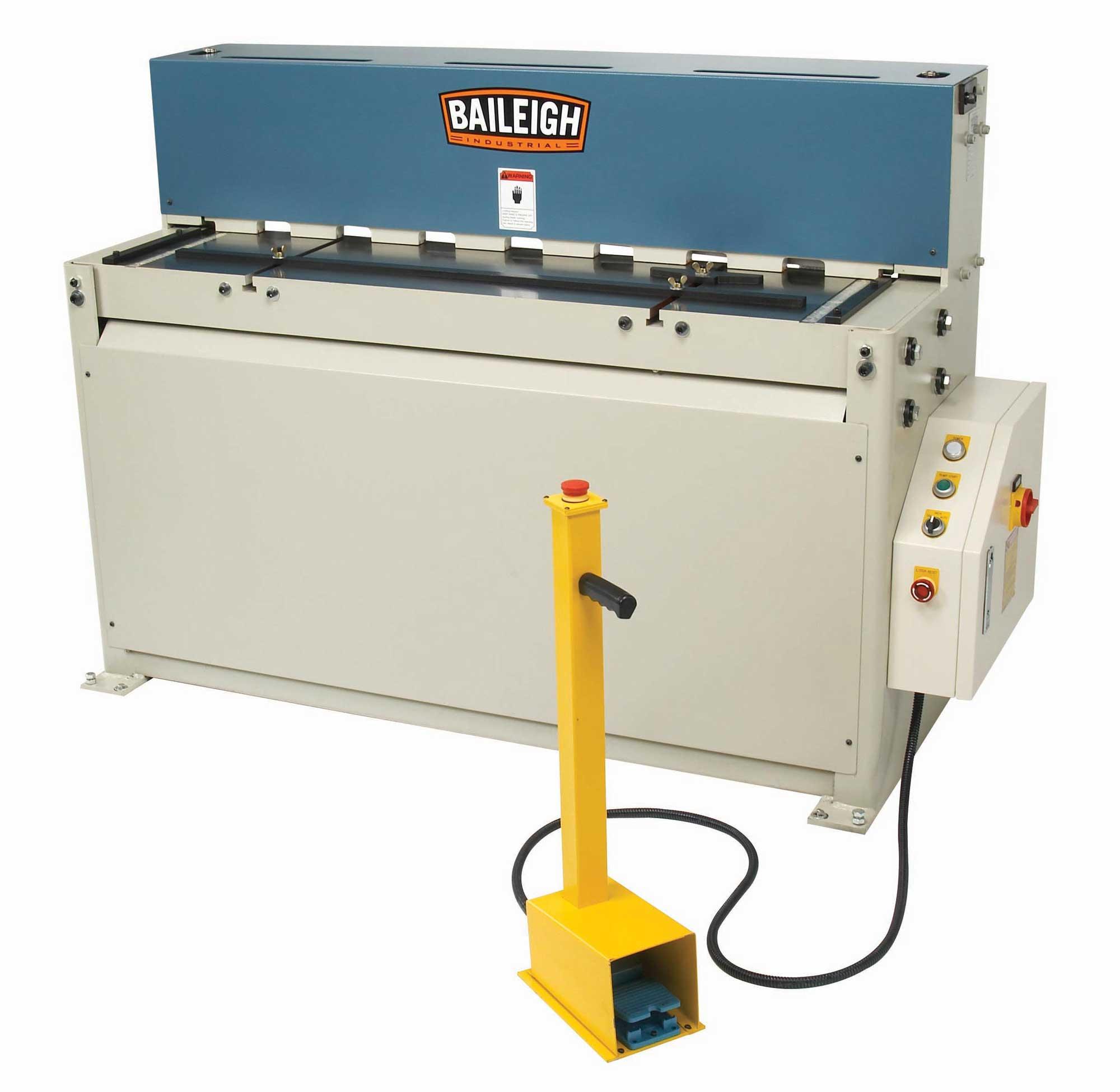 Baileigh Sh 5210 Hydraulic Shear
