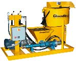 grout, SLURRY & material pumps AND SPRAYERS