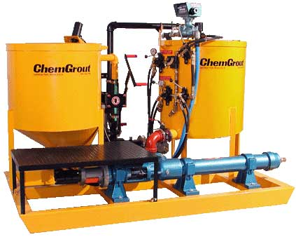 Chemgrout Cg 680 High Capacity Colloidal Mixer Series