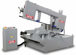 DAKE SHOP and PRODUCTION HORIZONTAL BANDSAWS