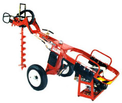 660 DIG-R-MOBILE Towable Hydraulic Hole Digger