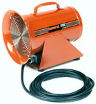 EP8DC 1/6 HP / 12 volt DC - 8 inches / 999.1 CFM