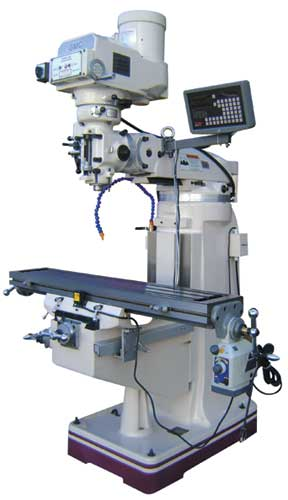 GMC knee MILLING MACHINES - 1 YEAR PARTS WARRANTY