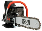 ics concrete, rock, block or brick wall saw