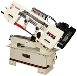JET vertical, horizontal, SEMI AUTO and SWIVEL/MITERING HEAD METAL band sawS