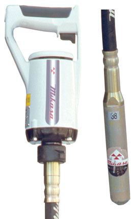 Multiquip Mgx Concrete Vibrator
