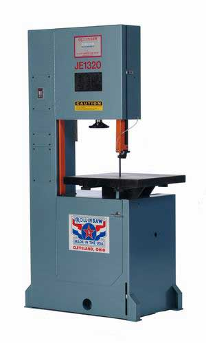 Roll In Saw Je1320 Vertical Bandsaw