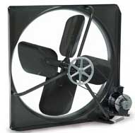 V exhaust and R supply Commercial Wall Fans